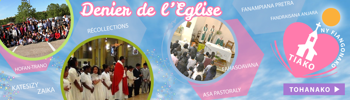 Fiangonana Katolika Malagasy Paris - Denier de l4eglise 2015