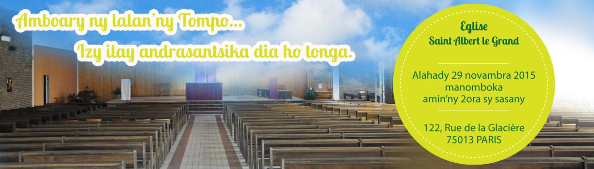 Eglise Catholique Malagache de Pris - Amboary ny lalan'ny Tompo