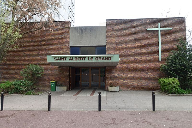 Eglise Saint Albert le Grand - 122 Rue de la Glacière Paris 13