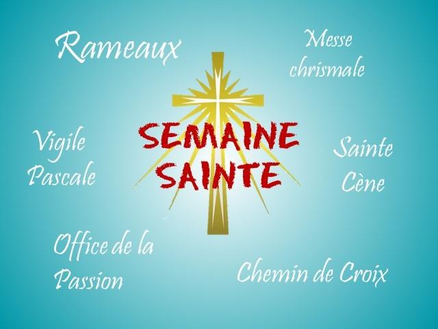Semaine Sainte - Pâques 2019 avec la Communauté Catholique Malgache de Paris